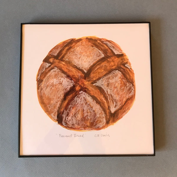 Framed Peasant Bread Art Print
