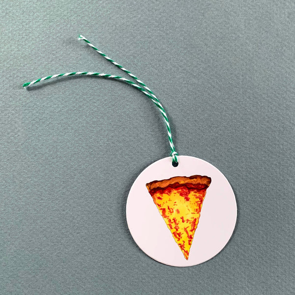 Set of 6 Pizza Gift Tags