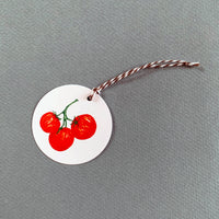 Set of 12 Cherry Tomato Gift Tags