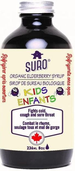 Organic Elderberry Syrup (KIDS)