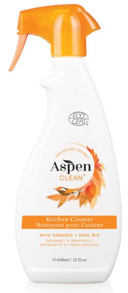 ASPEN CLEAN - Kitchen Cleaner with Organic Bergamont & Grapefruit