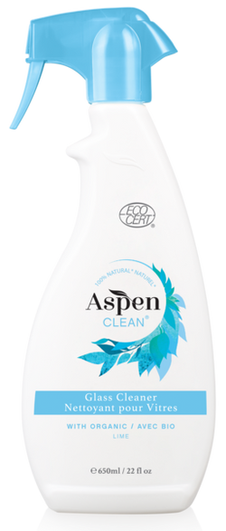 ASPEN CLEAN - Glass Cleaner with Organic Lime
