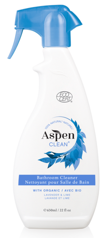 ASPEN CLEAN - Bathroom Cleaner with Organic Lavender & Lime