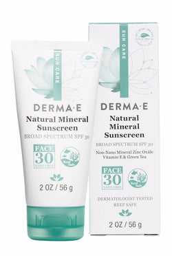 Oil Free Mineral Face Sunscreen SPF 30