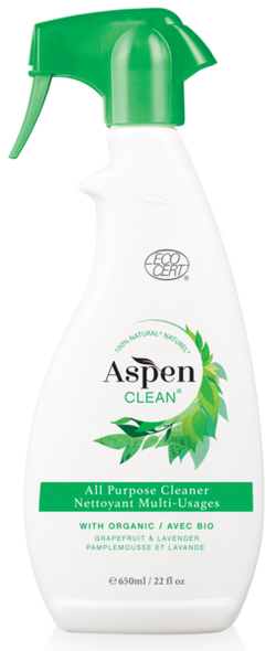 ASPEN CLEAN - All Purpose Cleaner with Organic Grapefruit & Lavender