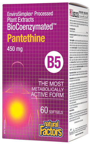Vitamin B-5 BioCoenzymated™ Pantethine
