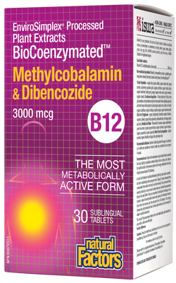 Vitamin B-12 BioCoenzymated™ Methylcobalamin & Dibencozide