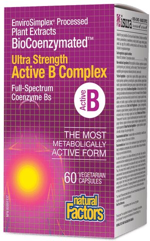 Active B Complex ULTRA STRENGTH BioCoenzymated™ 60 Capsules