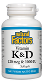 Vitamin K & D - 360 Softgels