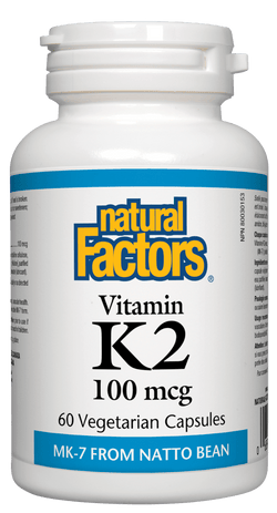 Vitamin K2 100mcg FLYER BOGO 60 + 60