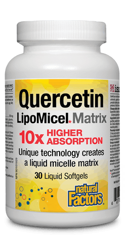 Quercetin LipoMicel Matrix 30 Softgels