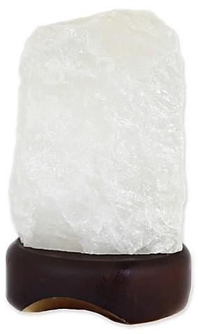Gemstone Lamp - Clear Quartz