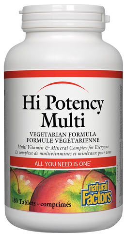 Hi Potency Multi Vegetarian Formula Tablets