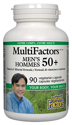 MultiFactors® Men's 50+ Vegetarian Capsules
