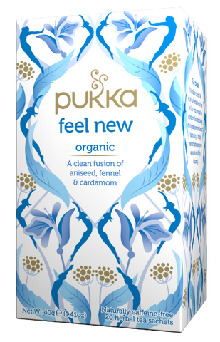 Pukka Feel New Organic Herbal Tea