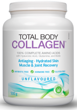 Total Body Collagen 500g - Unflavoured, Pomegranate, or Orange