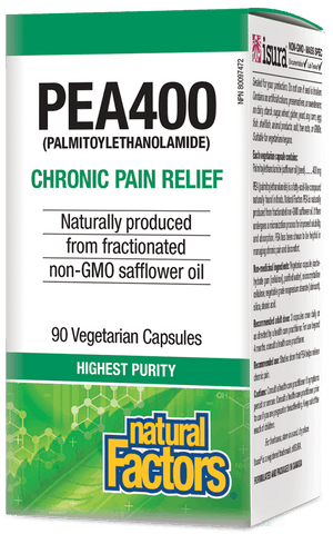 PEA400 Palmitoylethanolamide for Chronic Pain Relief