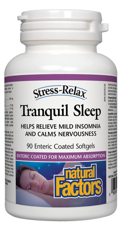 Tranquil Sleep Enteric-Coated Softgels