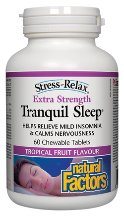 Tranquil Sleep Extra Strength Chewable Tablets