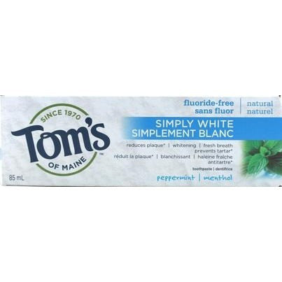 Tom's of Maine Toothpaste - Simply White