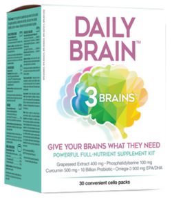 3 Brains Daily Brain - SPECIAL ORDER ITEM