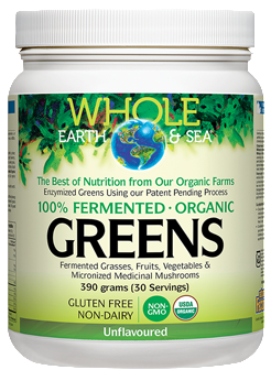 Fermented Organic Greens - Tropical, Chocolate, or Unflavoured