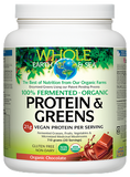 Fermented Organic Protein & Greens - Tropical, Chocolate, Vanilla Chai, Unflavoured
