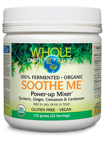 Soothe Me - Fermented, Organic Power-Up Mixer