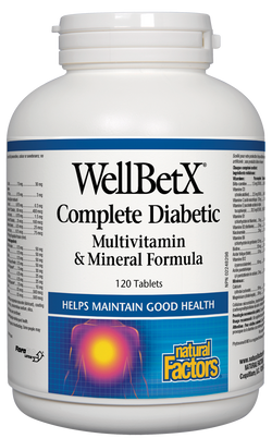 WellBetX® Complete Diabetic Multivitamin