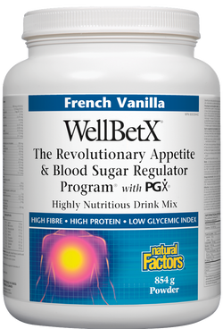 WellBetX® Appetite & Blood Sugar Regulator Drink Mix - 2 Flavours