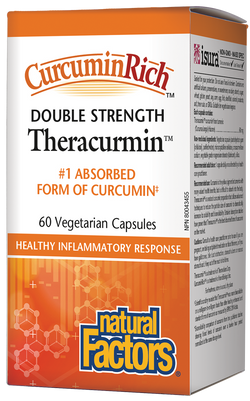 Curcumin Rich™ Theracurmin™ Double Strength 60s