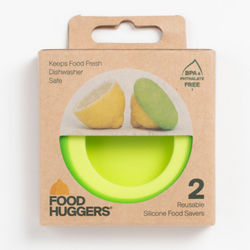 "Silicon Food Huggers ""Citrus"" - Set of 2"
