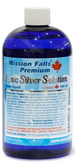 Mission Falls Ionic Silver Solution (3 sizes)