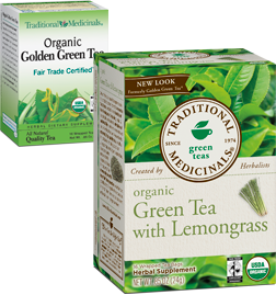 Green Tea with Lemongrass Organic