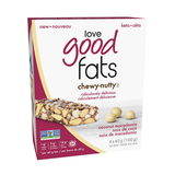 Love Good Fats Keto Bar - Chewy Nutty Coconut Macadamia (Vegan)