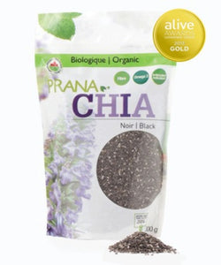 Chia Seeds - Black, Organic