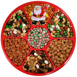 "Gift Tray - Nut Selection with Candy Center 12"" - #60008"