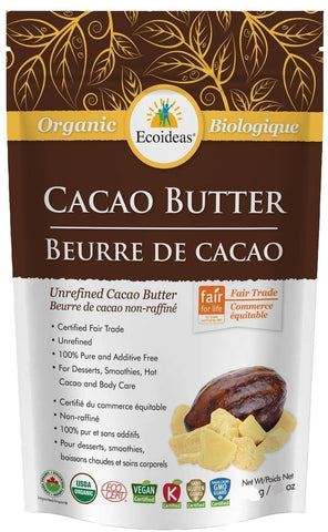 Cacao Butter - Organic, Fair Trade