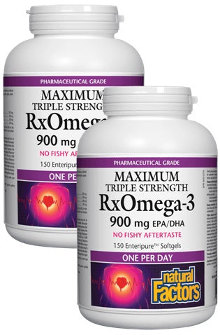 RxOmega-3 900 mg - DUO PACK