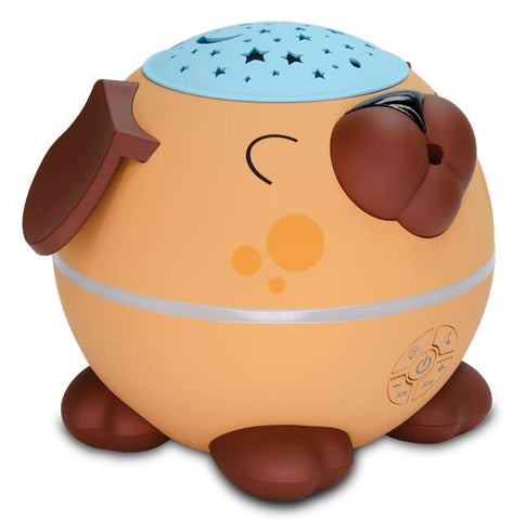 Ultrasonic Essential Oil Diffuser - Sleepy Puppy with Light Projector & Gentle Sounds