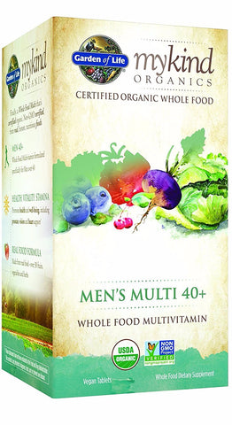 mykind Organics Men's 40+ Multi (Vegan)