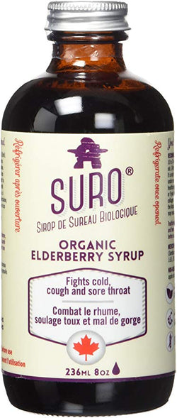 Organic Elderberry Syrup (ADULT)
