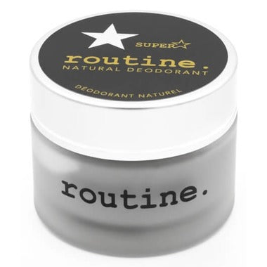 Routine Cream Deodorant SUPERSTAR (with Activated Charcoal) 58g
