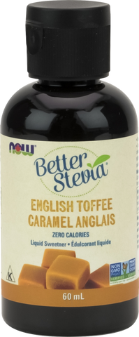 NOW BetterStevia® Liquid Drops - English Toffee