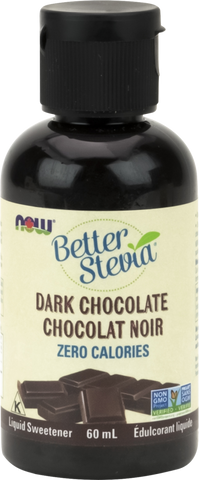 NOW BetterStevia® Liquid Drops - Dark Chocolate