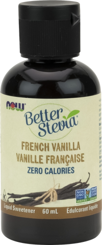 NOW BetterStevia® Liquid Drops - French Vanilla