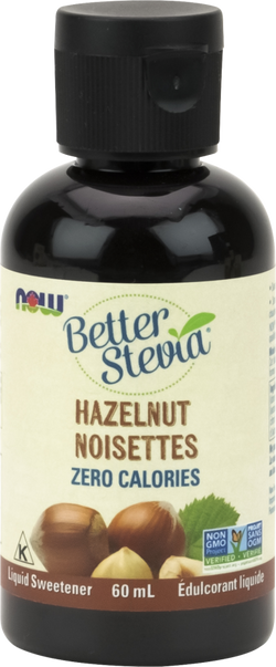 NOW BetterStevia® Liquid Drops - Hazelnut