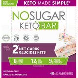 No Sugar Keto Bar - Birthday Cake (GF)