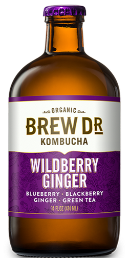 Brew Dr. Kombucha Wildberry Ginger