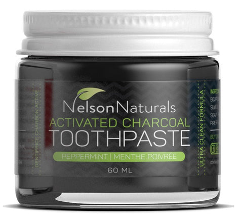 Nelson Naturals Activated Charcoal Whitening Treatment - 60ml